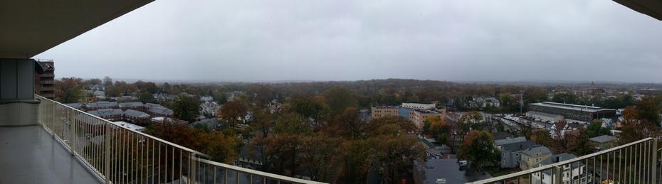 Tracking Hurricane #Sandy From My Balcony – Passaic, NJ