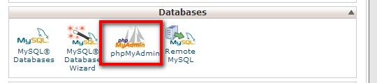 php-my-admin-cpanel